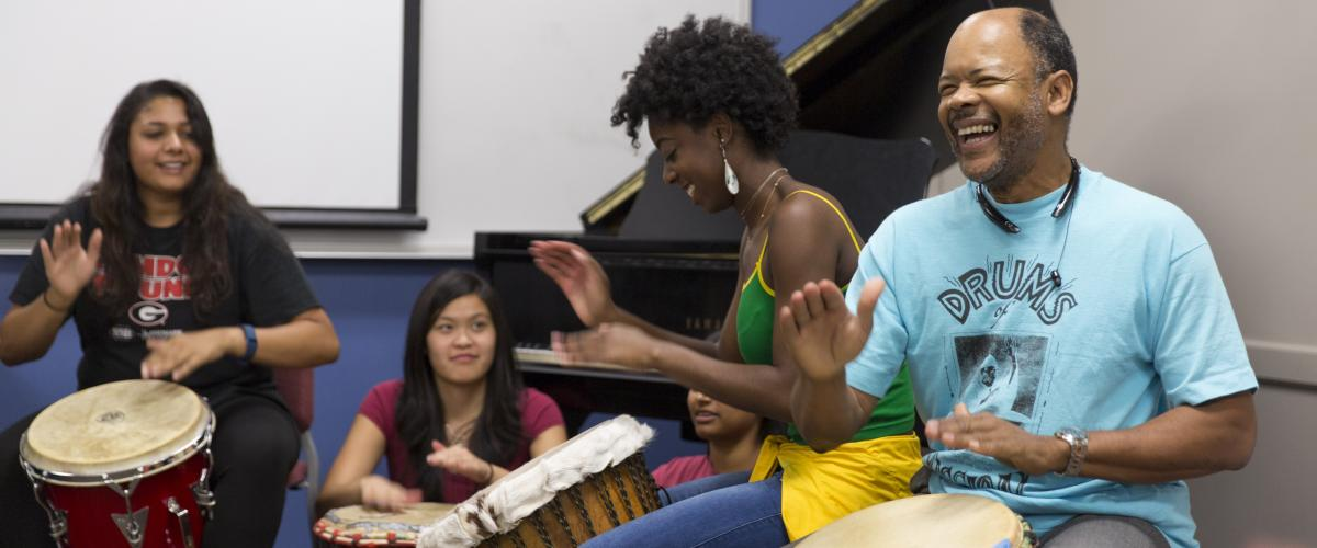 Photo of Drumming Class